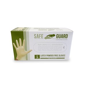 Powder Free Nitrile Gloves (Large)