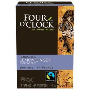 Four O'Clock Lemon Ginger Tea