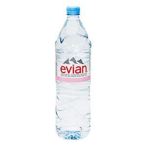 Eau de source naturelle Evian (12 bouteilles)