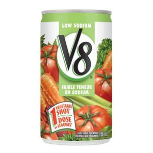 V8® vegetable cocktail low sodium
