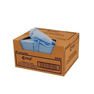 Serviettes bleues Chix®