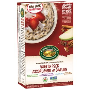 Nature's Path Organic Instant Oatmeal - Variety Pack