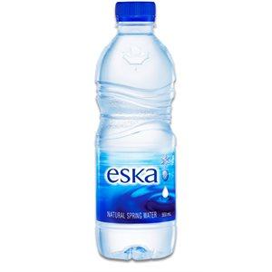 Eau de source naturelle Eska (24 bouteilles)
