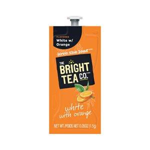 The Bright Tea Company White with Orange Tea | Lavazza Pouches