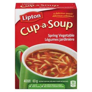 Soupe Légume jardinière Lipton Cup-a-Soup