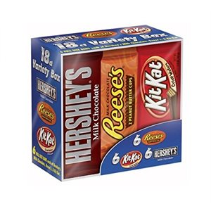 Hershey's Full-Size Bars Variety Pack
