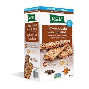 Barres sept céréales avec quinoa Kashi